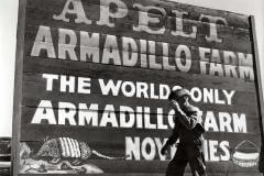 Apelt Armadillo Farm Boerne Texas Kendall County Historic Jail