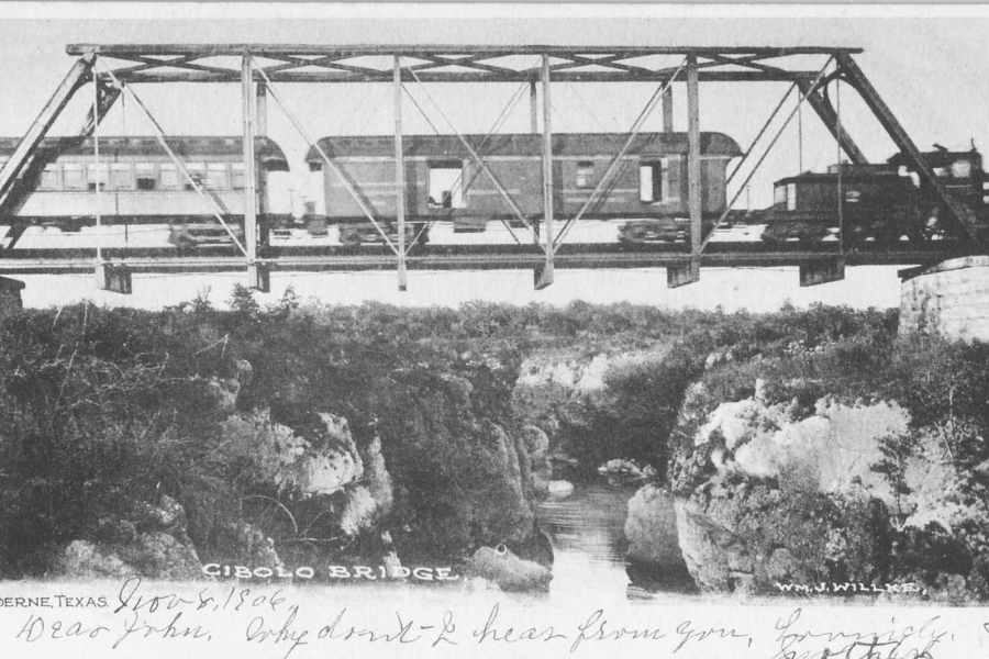 Cibolo Bridge San Antonio Train Boerne Texas Kendall County HIstoric Jail