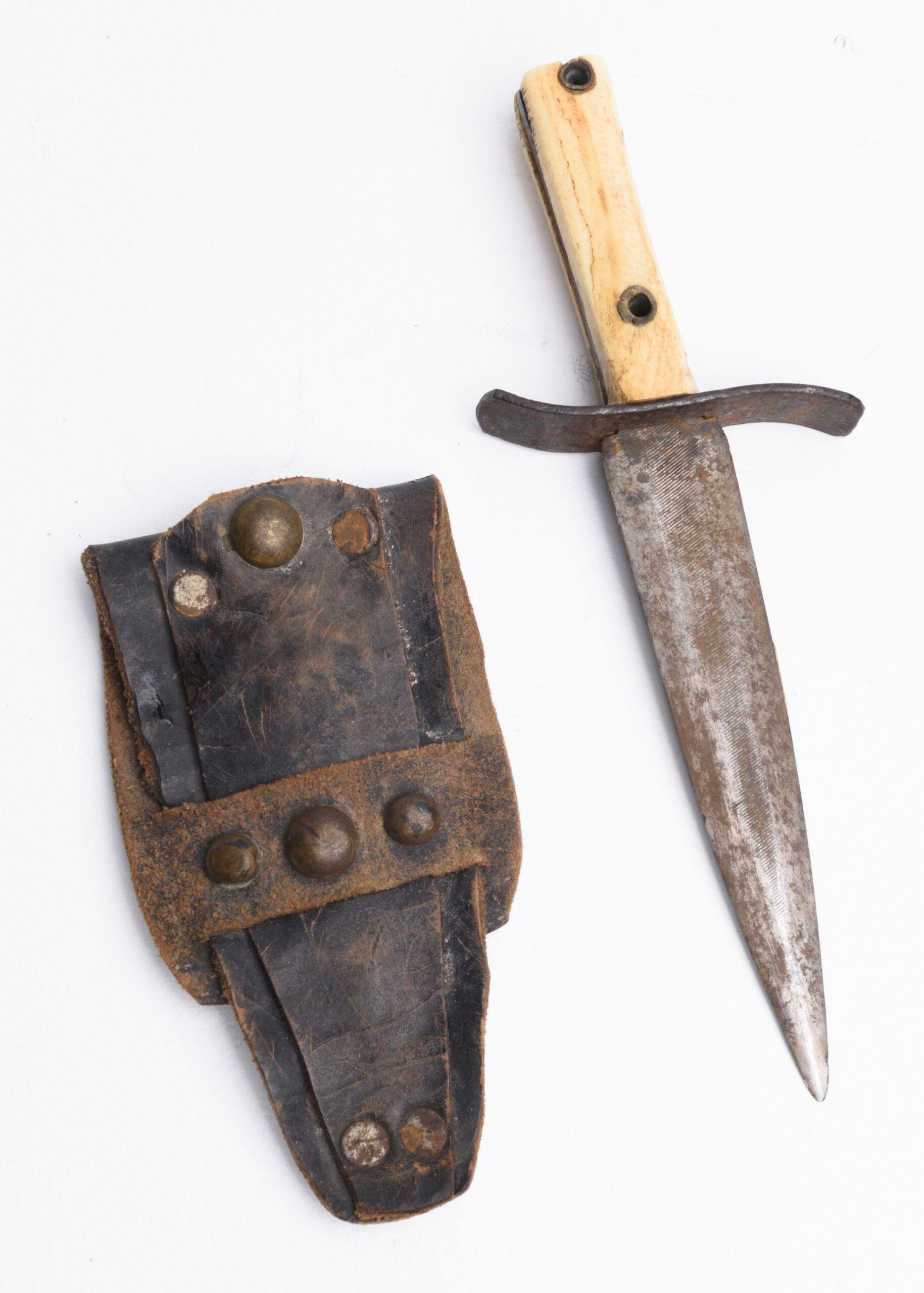 Kendall County Historic Jail Exhibit knife Boerne Texas